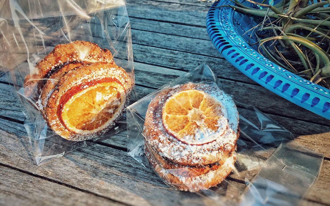 I biscotti degli Auguri! Arance e Mandorle