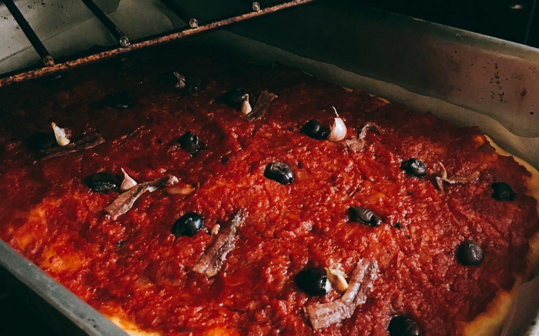 La pizza all'Andrea – le ricette di Casa Novaro
